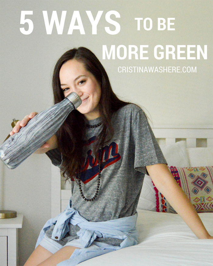 5 Ways To Be More Green - The Blog Societies