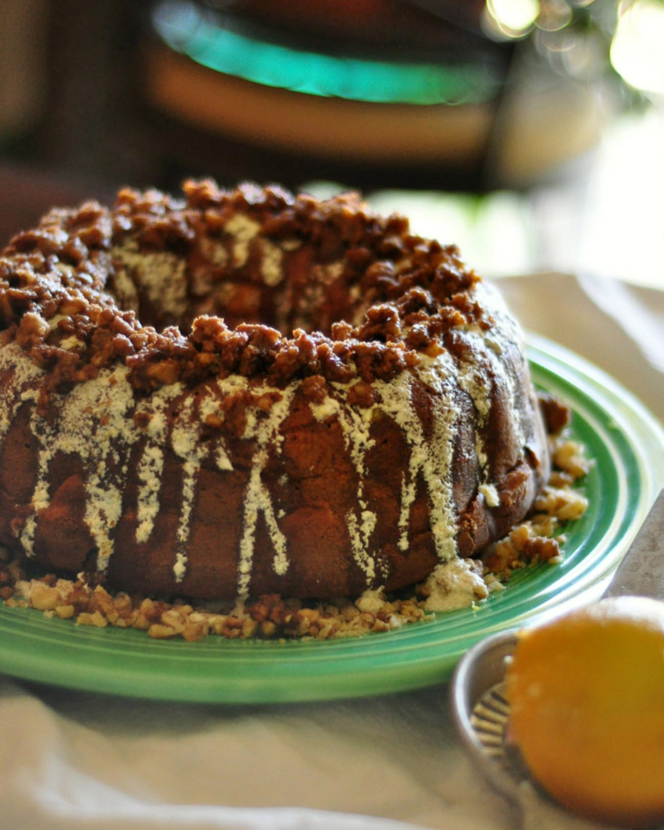 Fall Pear Spice Cake Recipe - The Blog Societies