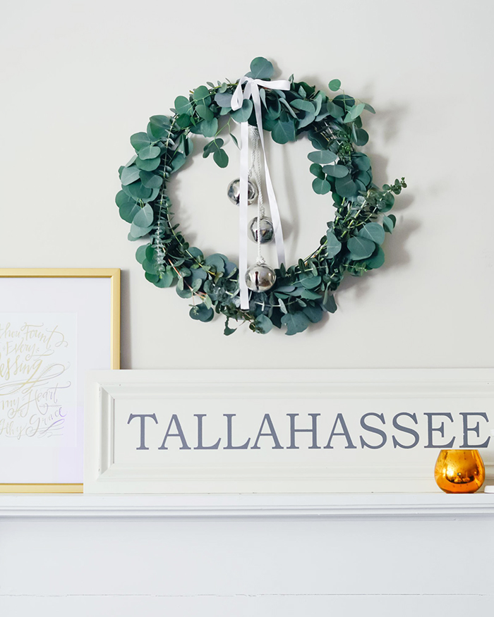 Eucalyptus Christmas Wreath - The Blog Societies