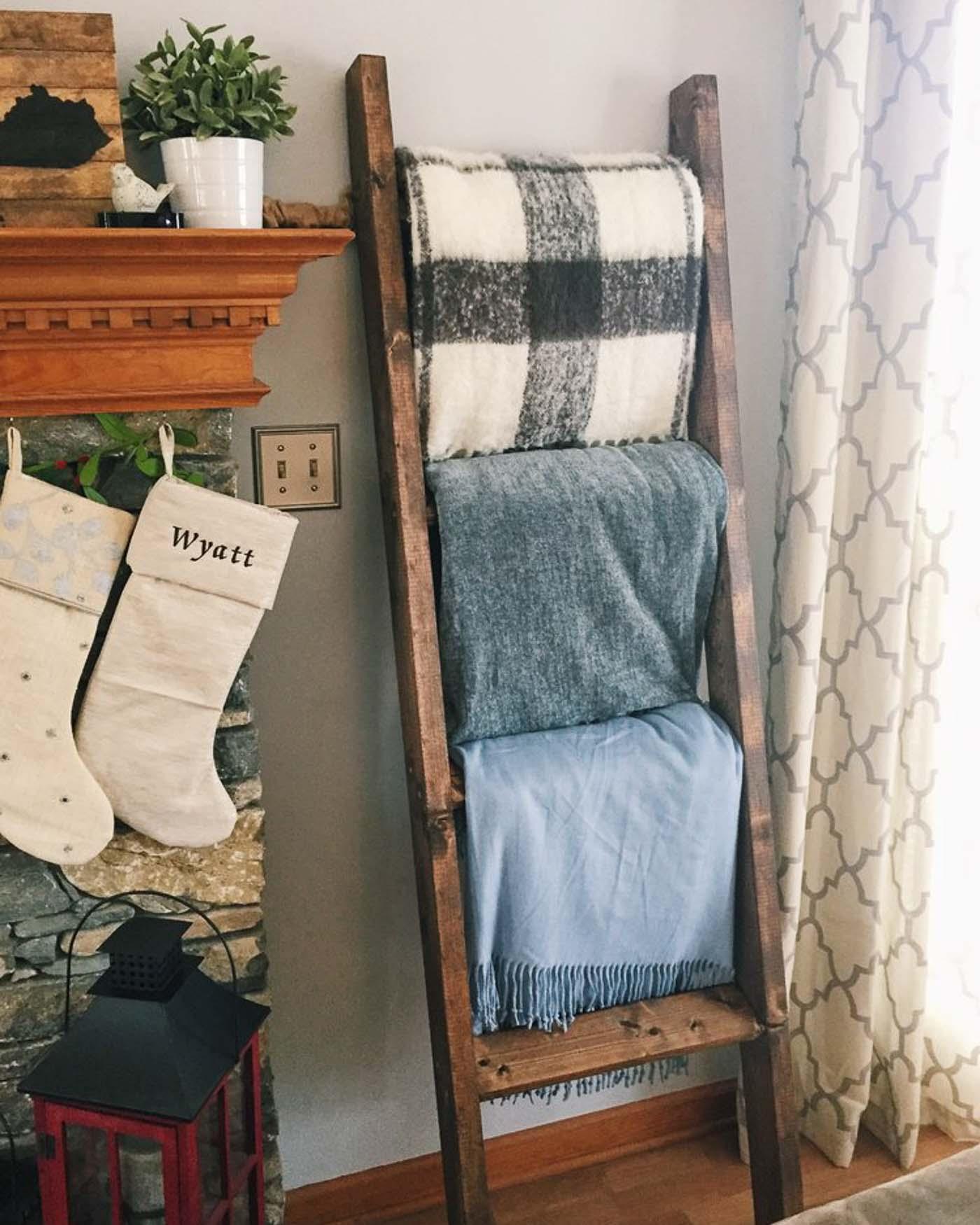 Diy Blanket Ladder The Blog Societies