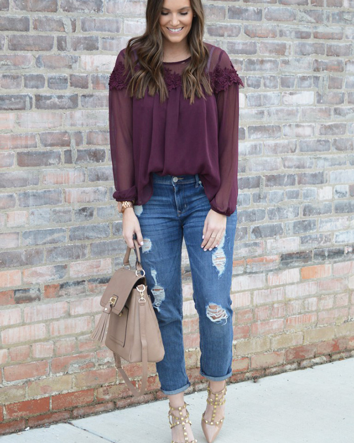 Dressing Up Boyfriend Jeans - The Blog Societies