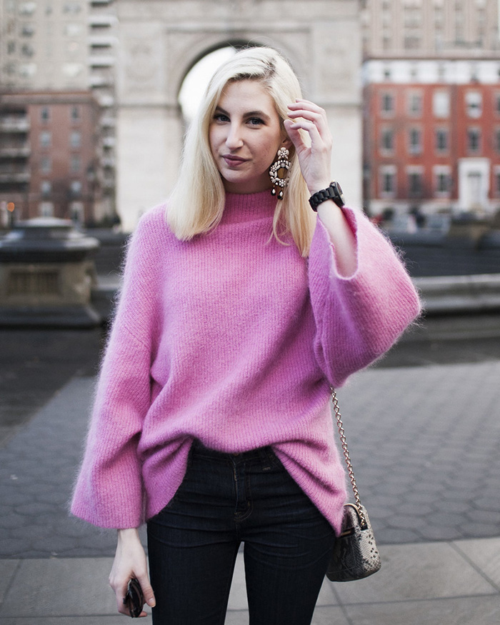 Spring Sweater - The Blog Societies
