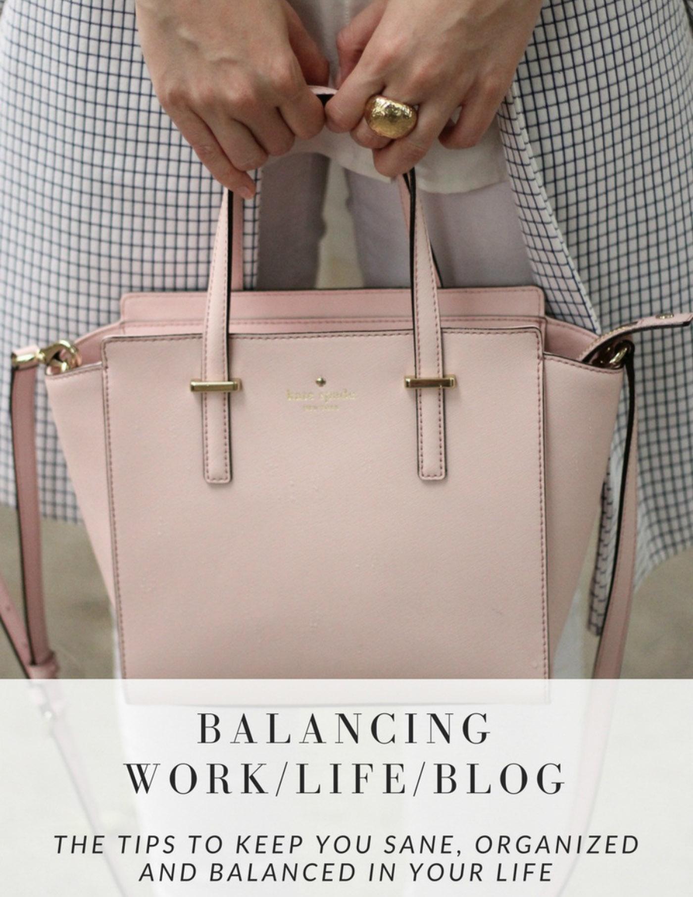 Balancing work life and your blog