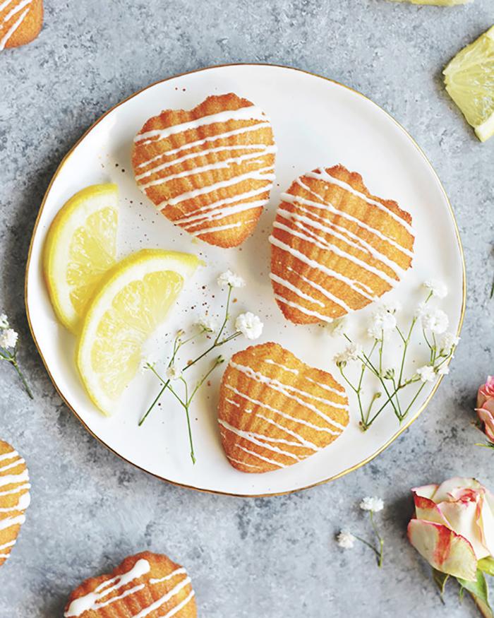 Lemon Madeleines - The Blog Societies