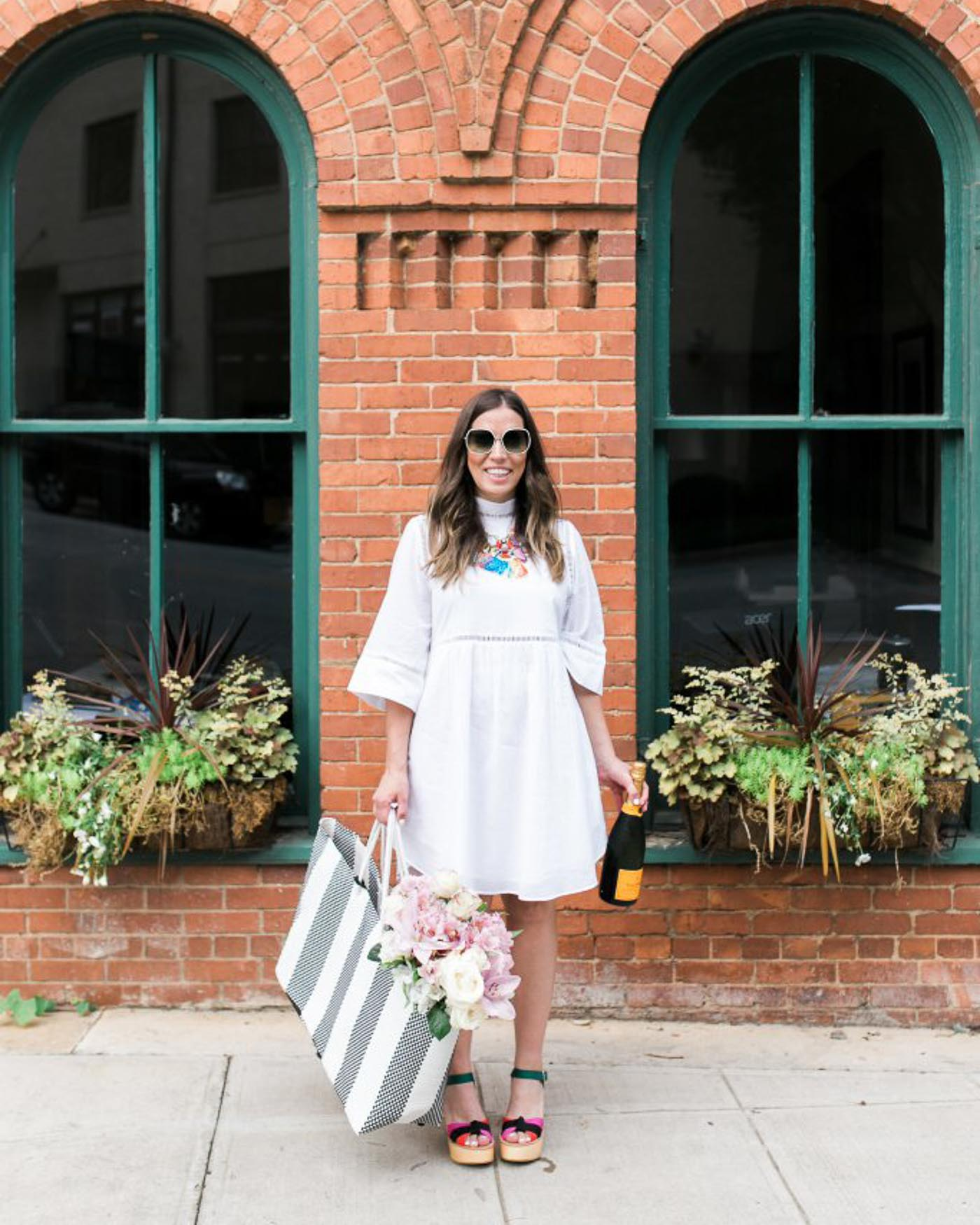white dress for summer - The Blog Societies