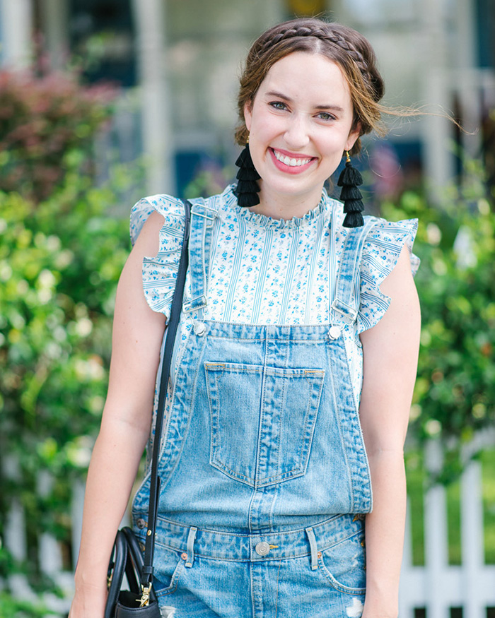 How To Style Overalls For Fall - The Blog Societies