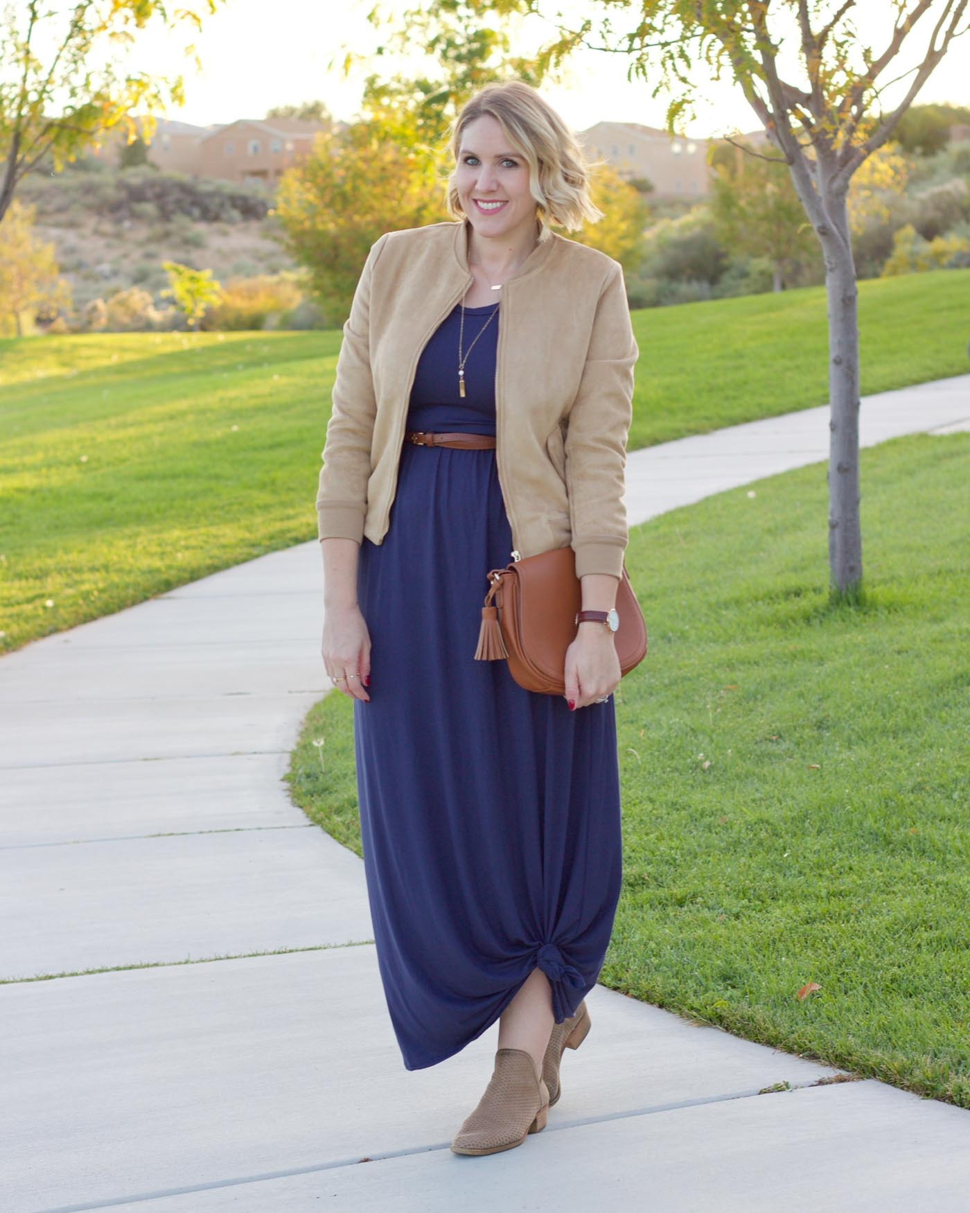 maxi dress for fall, outfit ideas