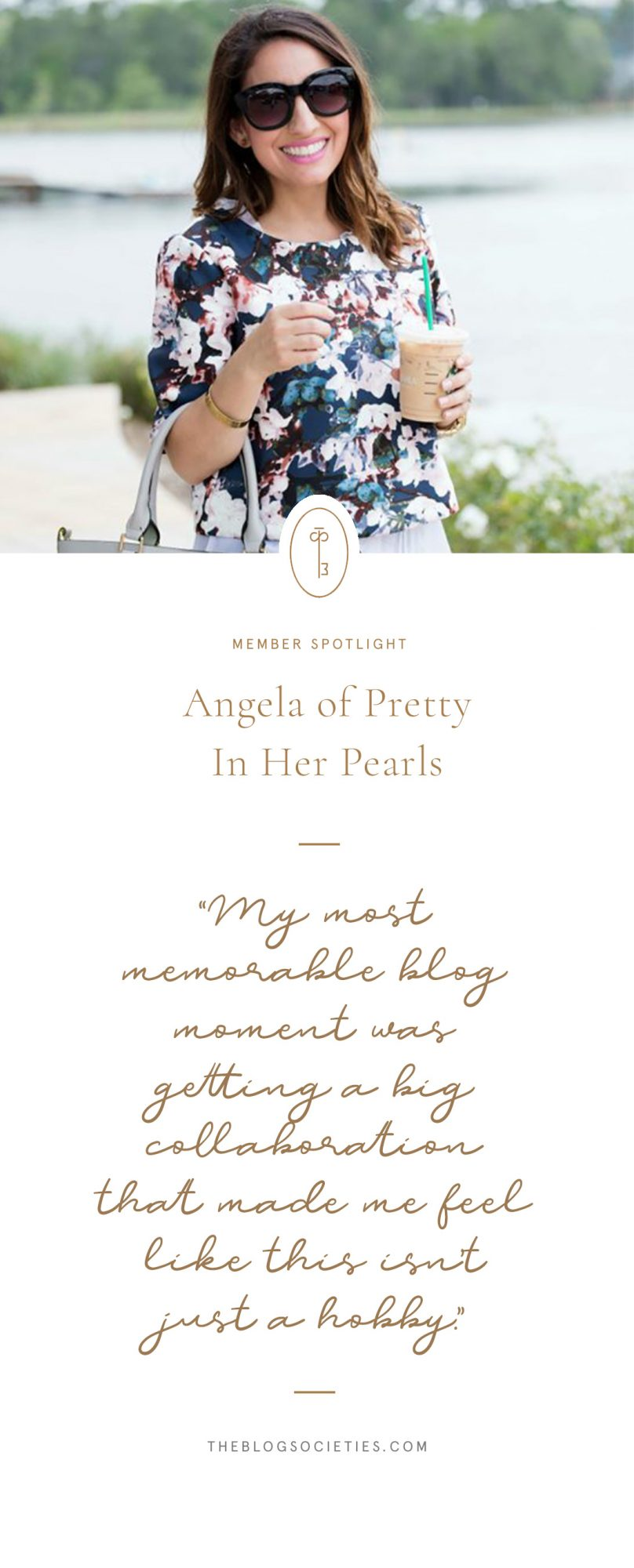 Texas Blogger - Angela of Pretty In Her Pearls - The Blog Societies