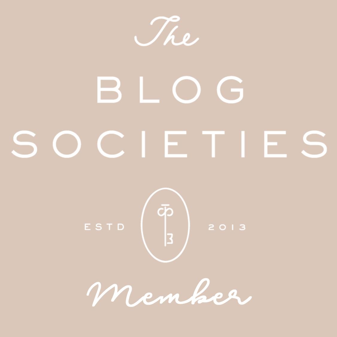 The Blog Societies Member