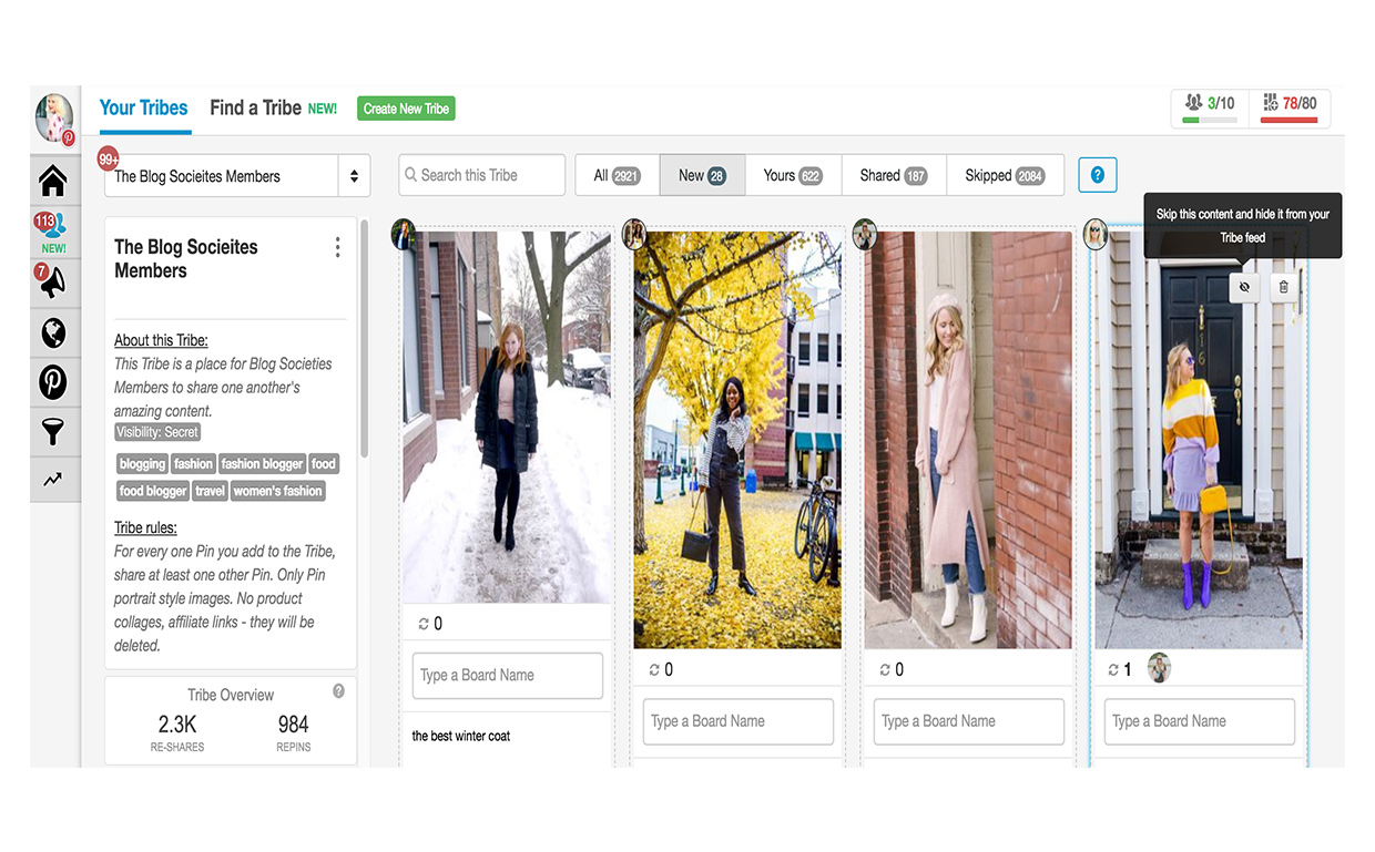 Mastering Tailwind For Pinterest - The Blog Societies