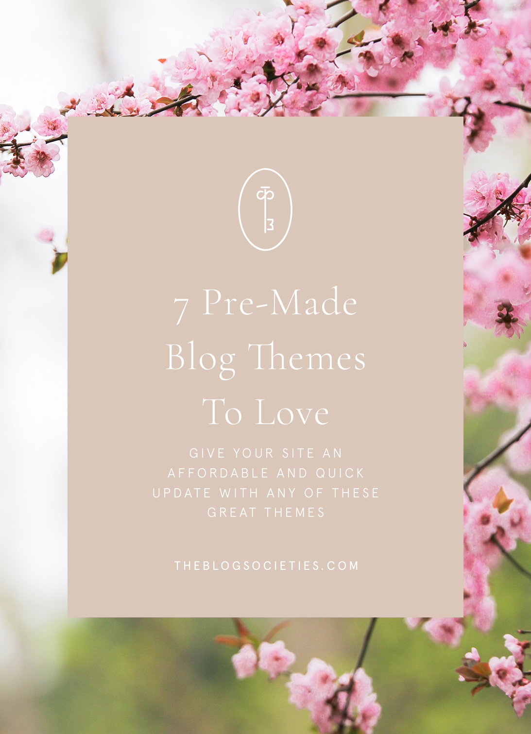 pre-made blog themes for fashion bloggers - The Blog Societies | 7 Pre-Made WordPress Blog Themes To Love featured by popular blogging community, The Blog Societies