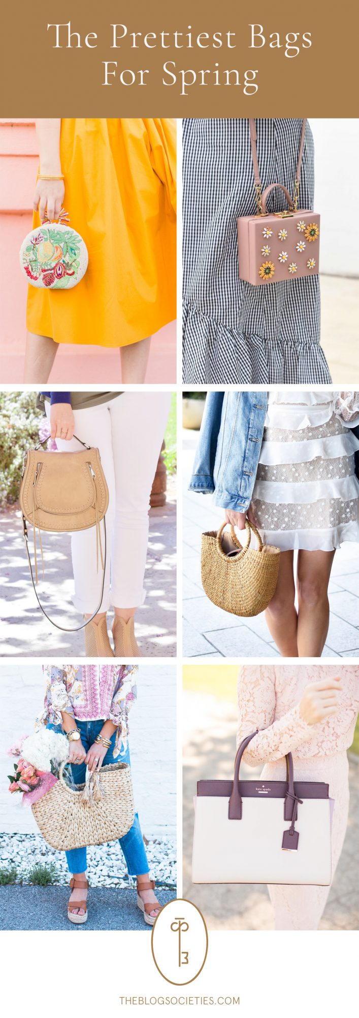 The Prettiest Bags For Spring - The Blog Societies