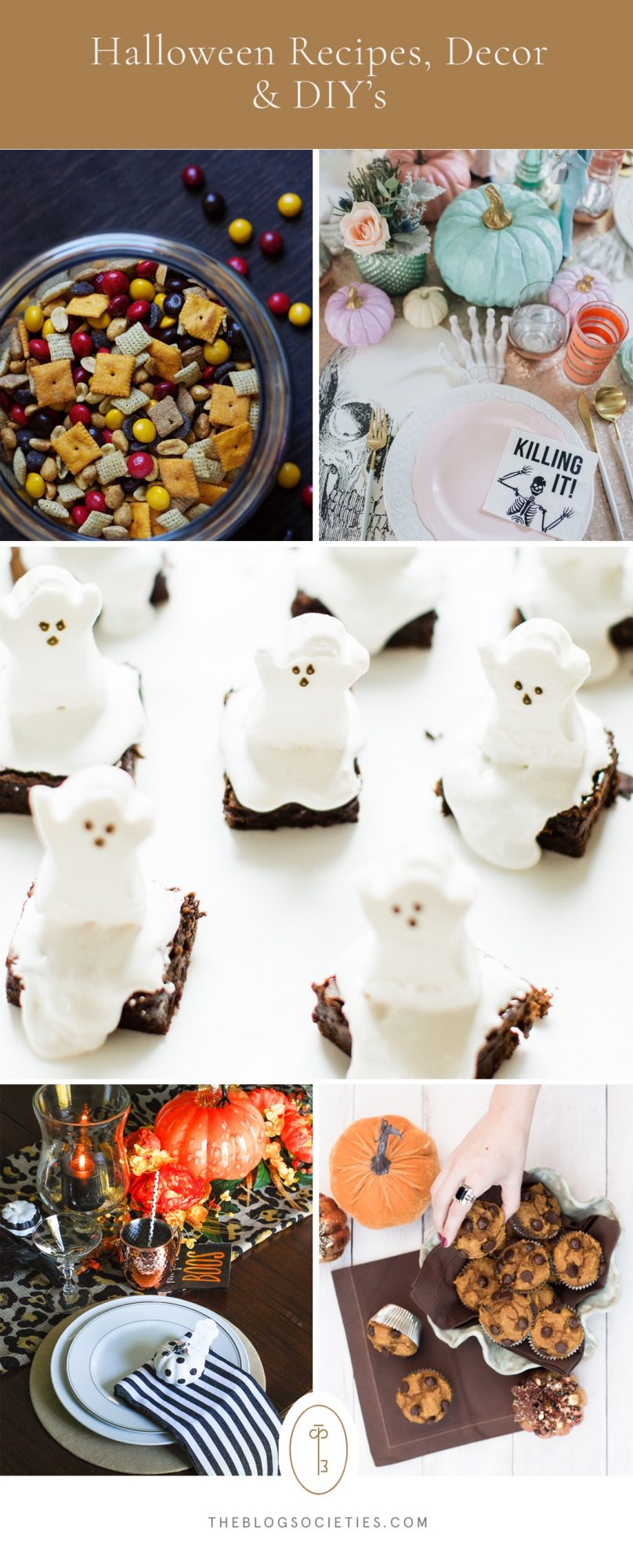 halloween DIYs, halloween tablescapes to try - The Blog Societies