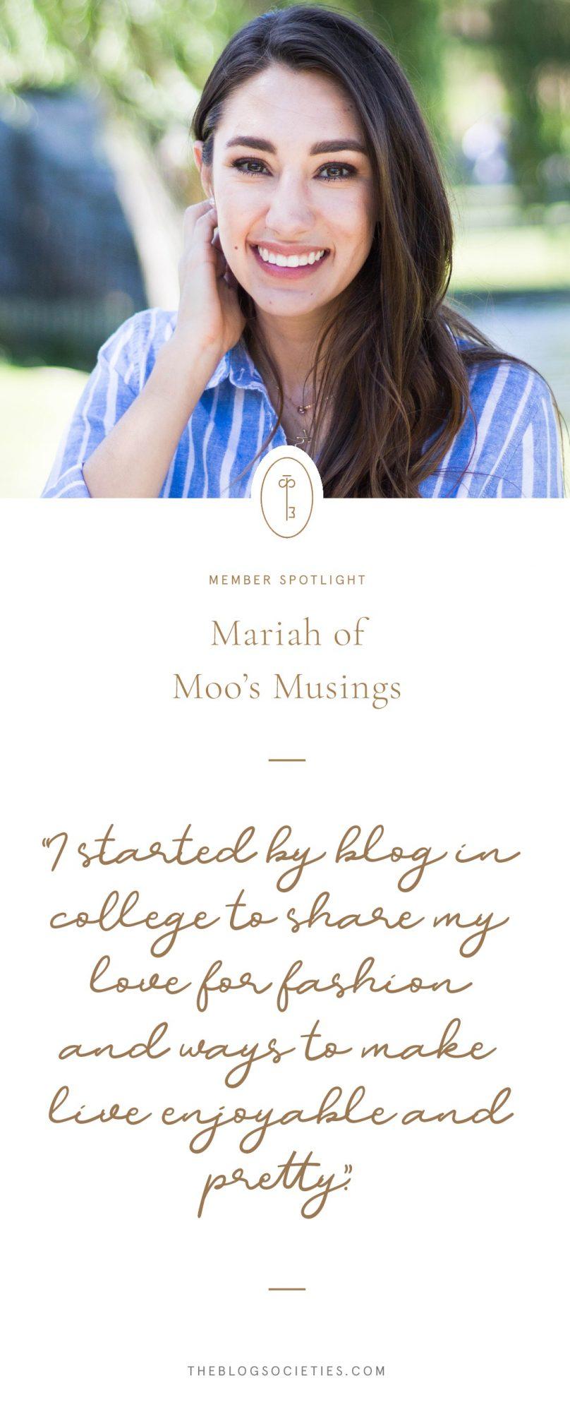 Moo's Musing Blog