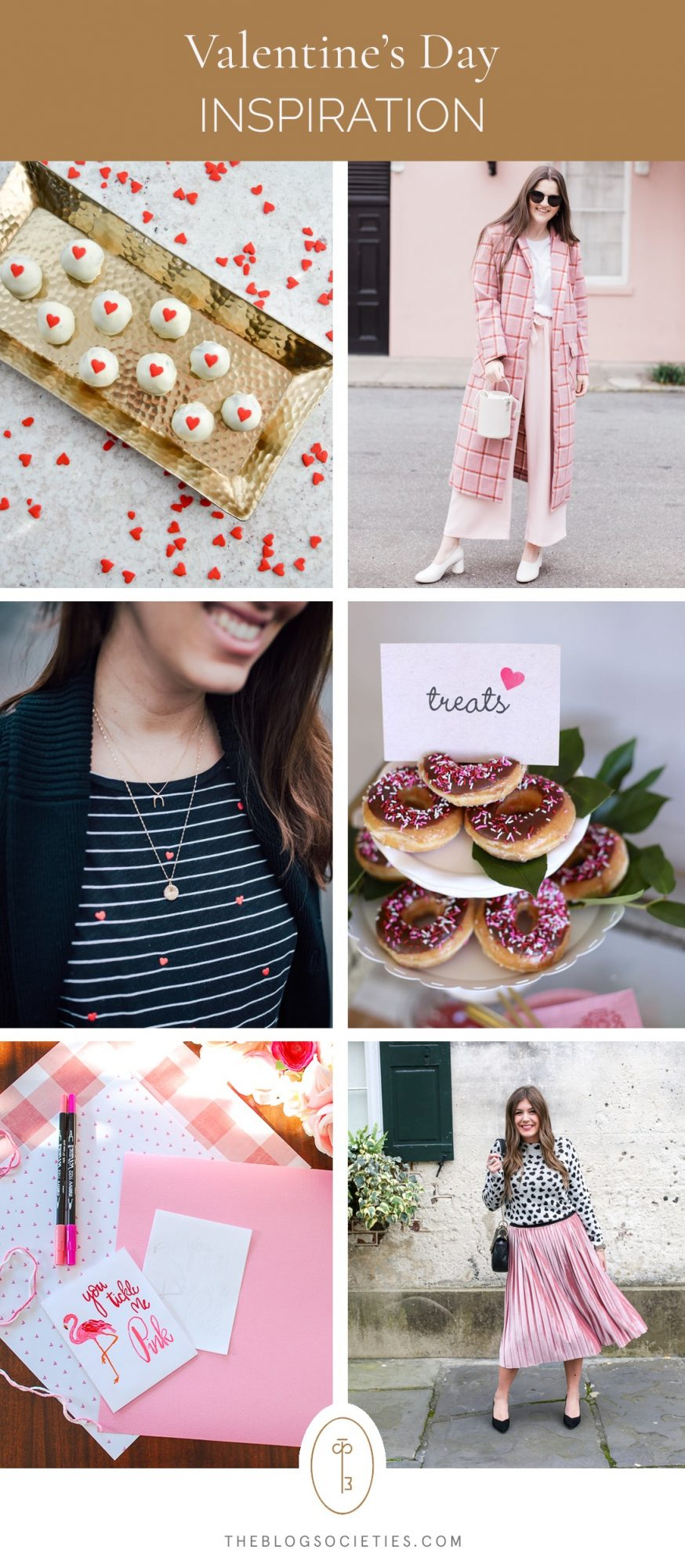 Valentines Day inspiration for decor and outfits
