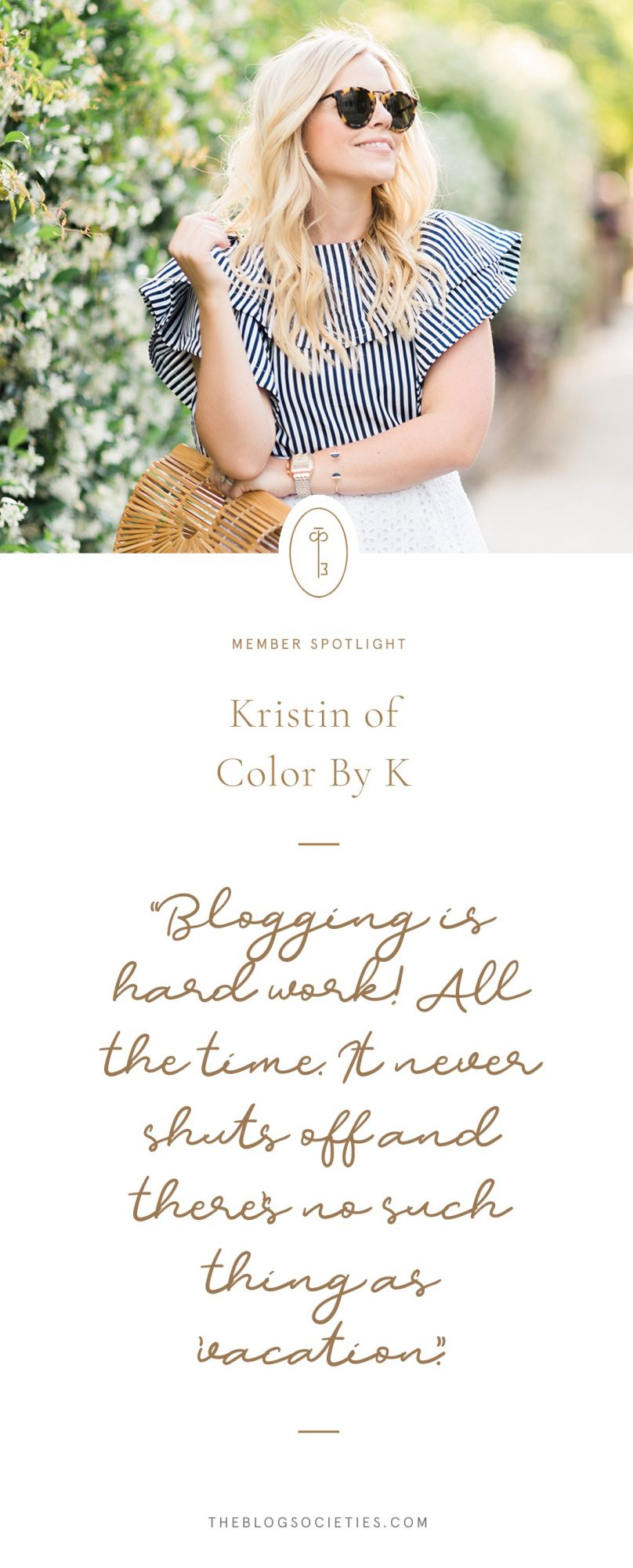 Kristin of Color by K, Charleston Blogger