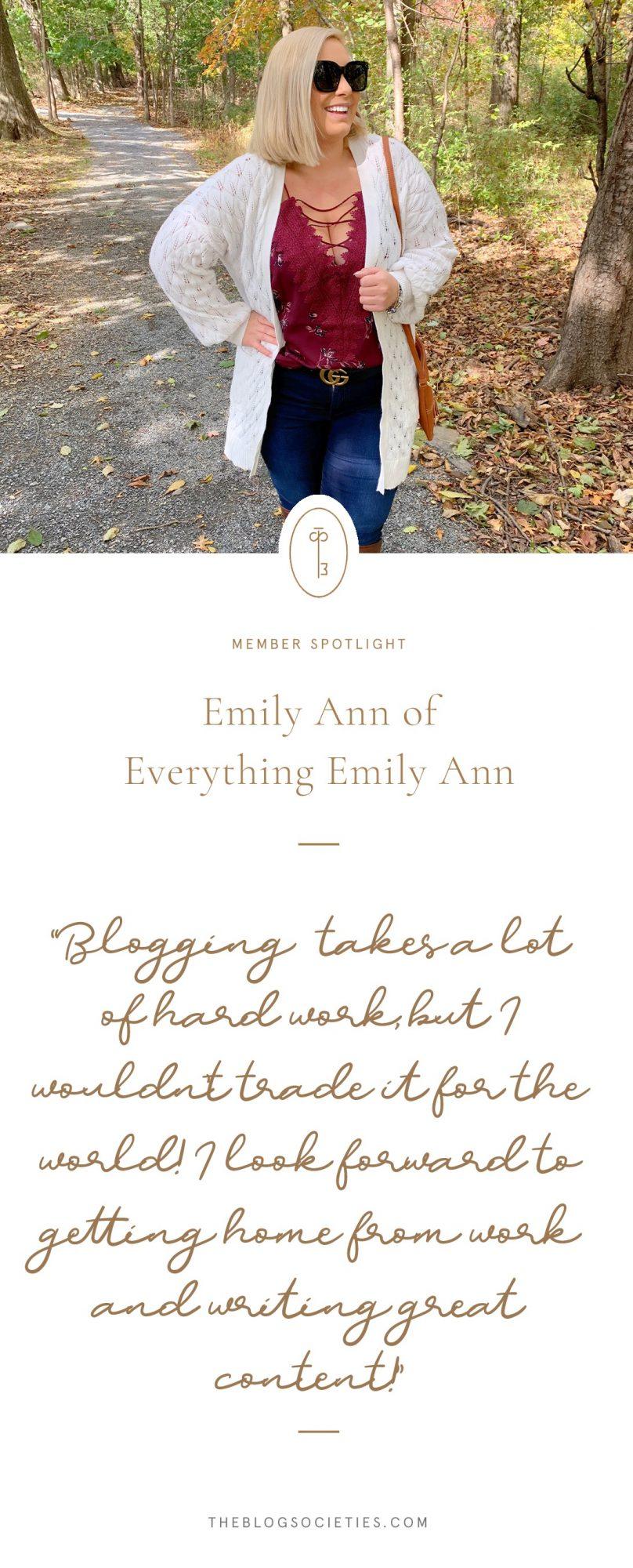 Emily of Everything Emily Ann Blog