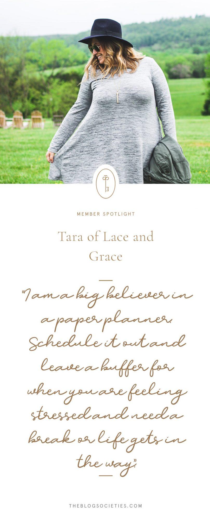 Tara of Lace & Grace Blog