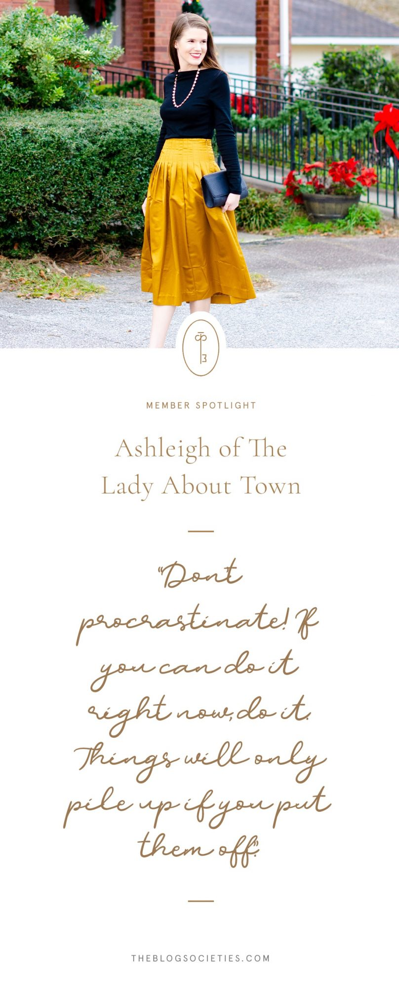 Ashleigh of The Lady About Town