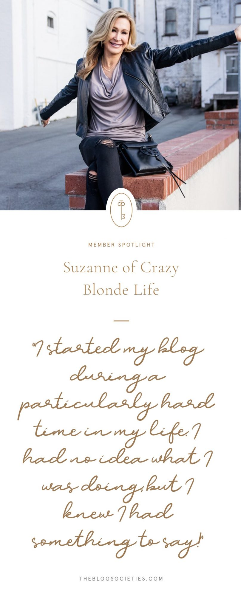 Suzanne of The Crazy Blonde Life
