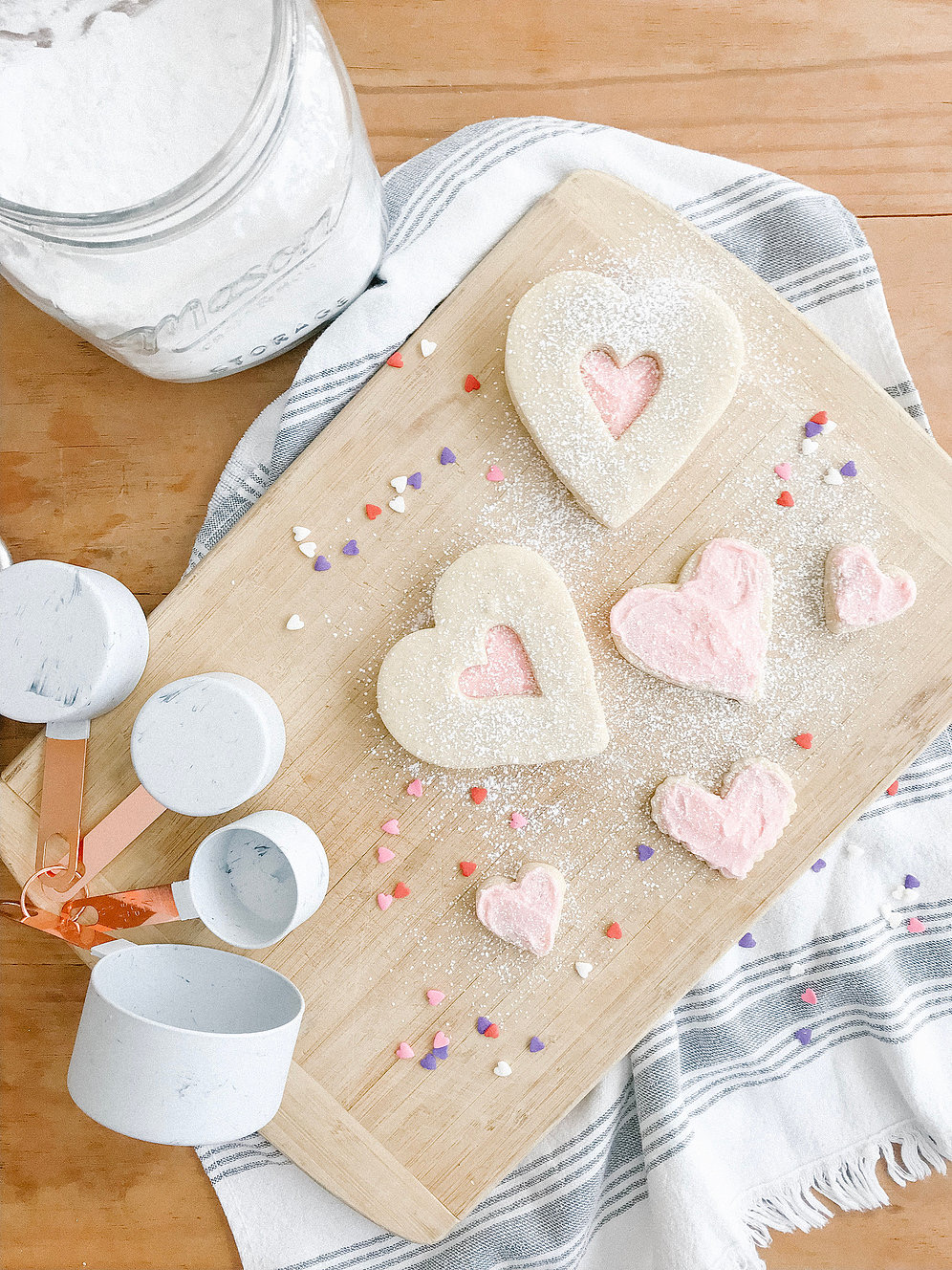 The Everyday Exchange Blog - recipe, heart cookies