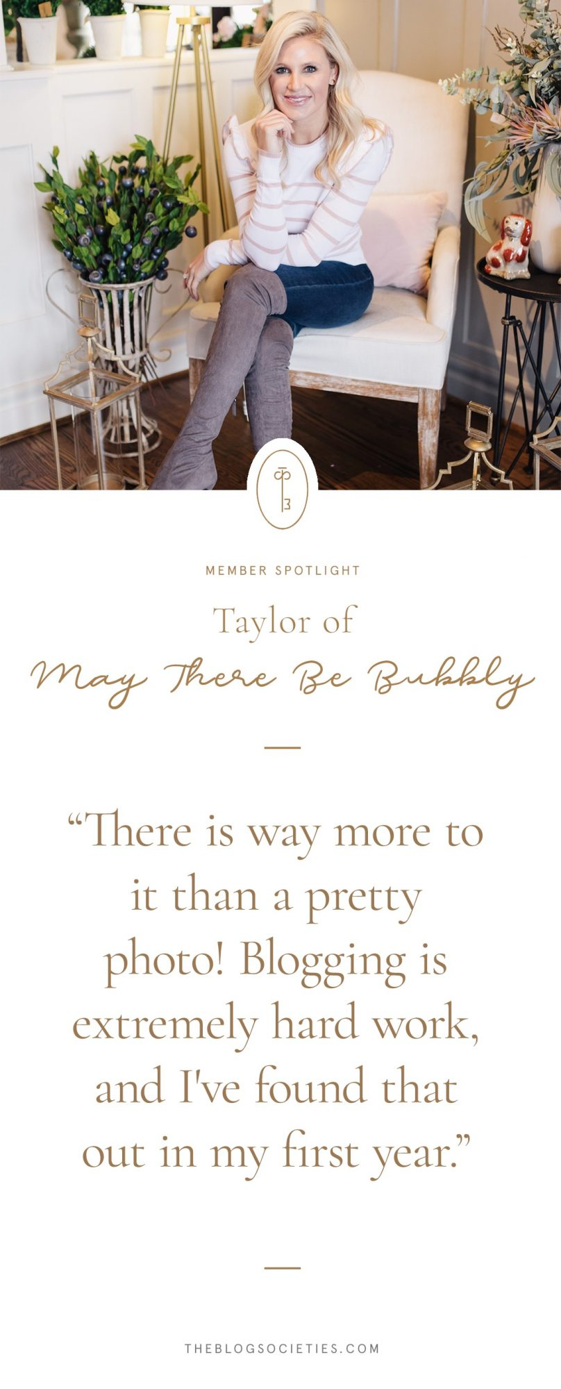 Taylor of May There Be Bubbly
