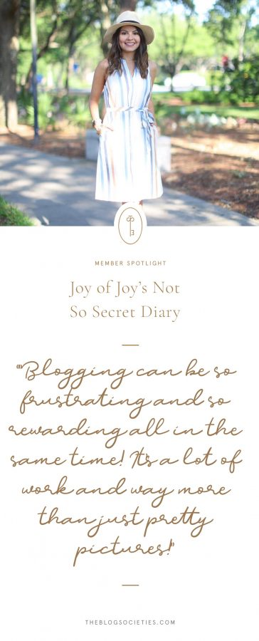 Joys Not So Secret Diary