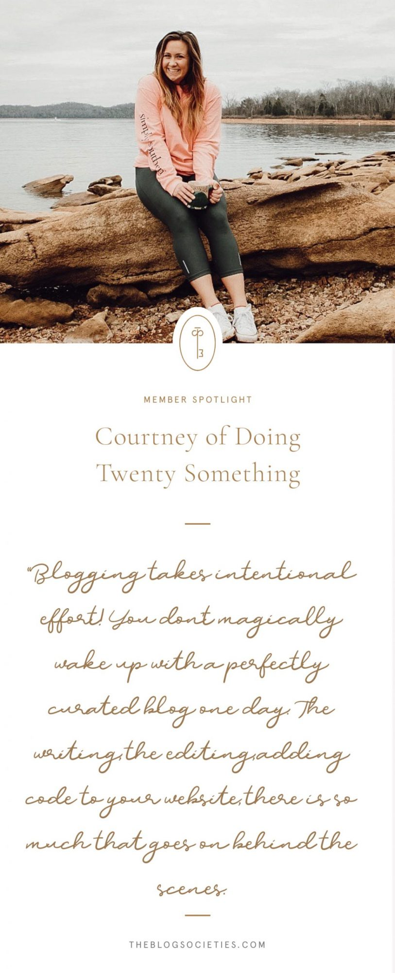Courtney of Doing Twenty Something Blog