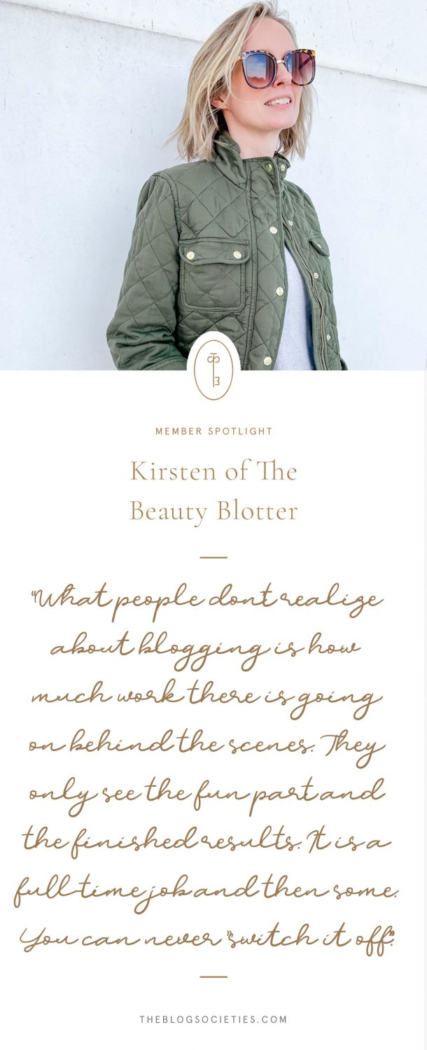 Kirsten of The Beauty Blotter
