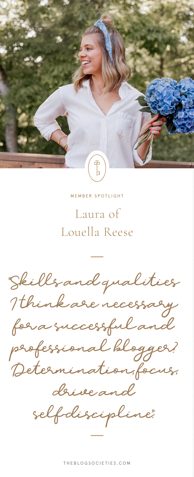 Member Spotlight: Laura of Louella Reese