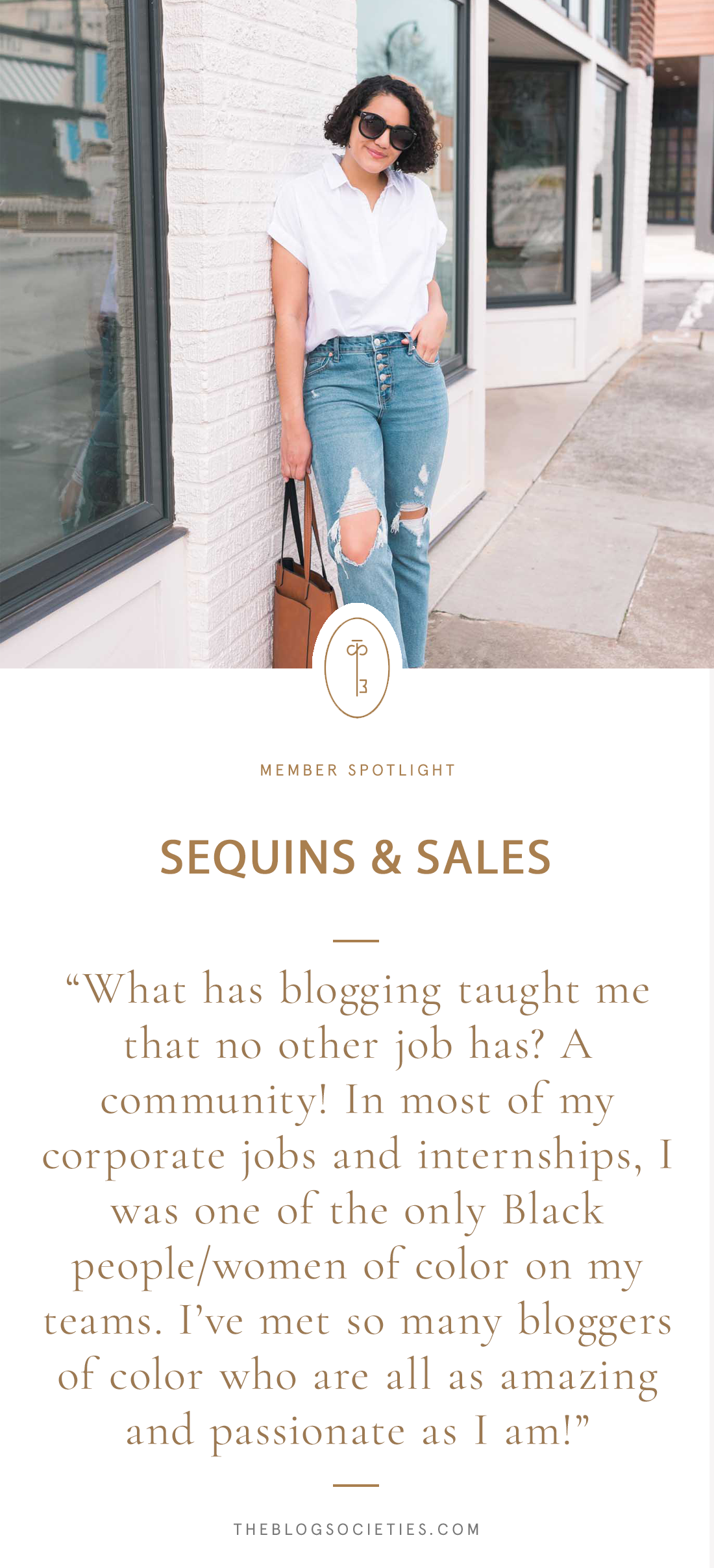 Member Spotlight: Amanda of Sequins & Sales | The Blog Societies
