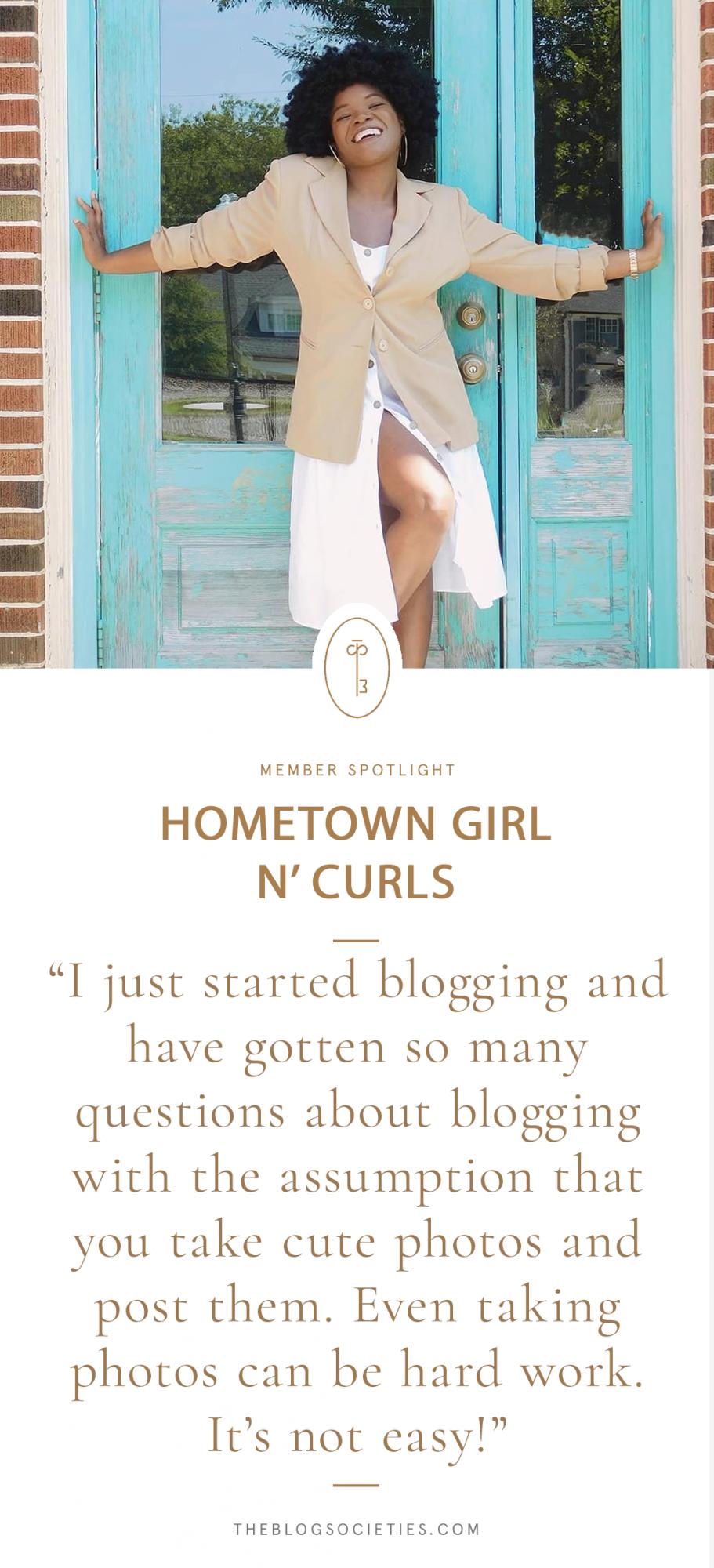 Yalana of Hometown Girl N' Curls