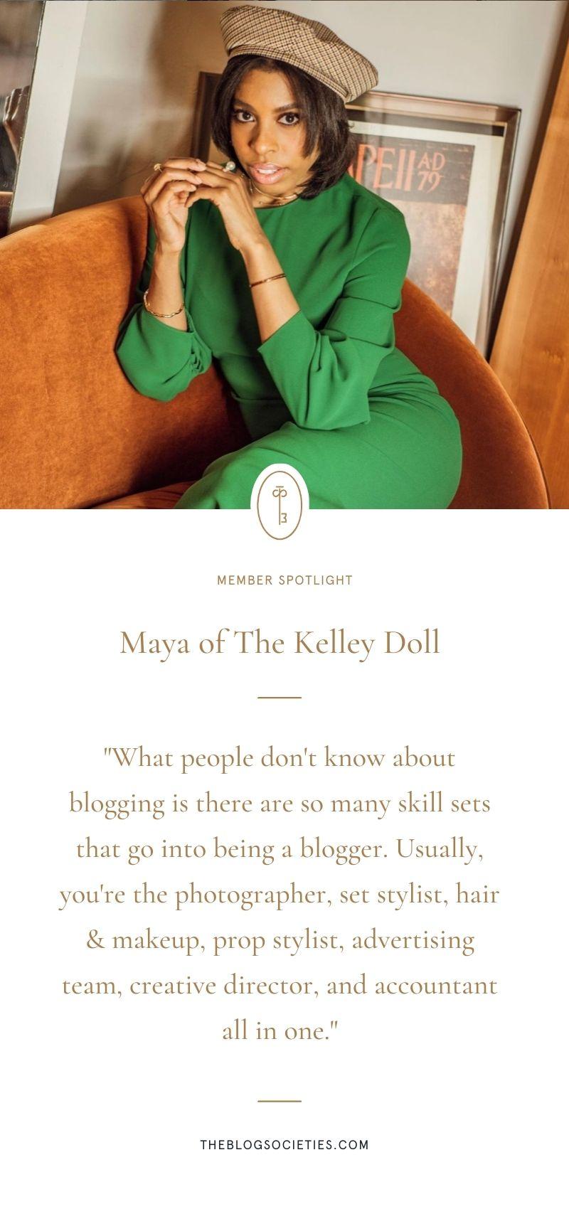 Maya of The Kelley Doll