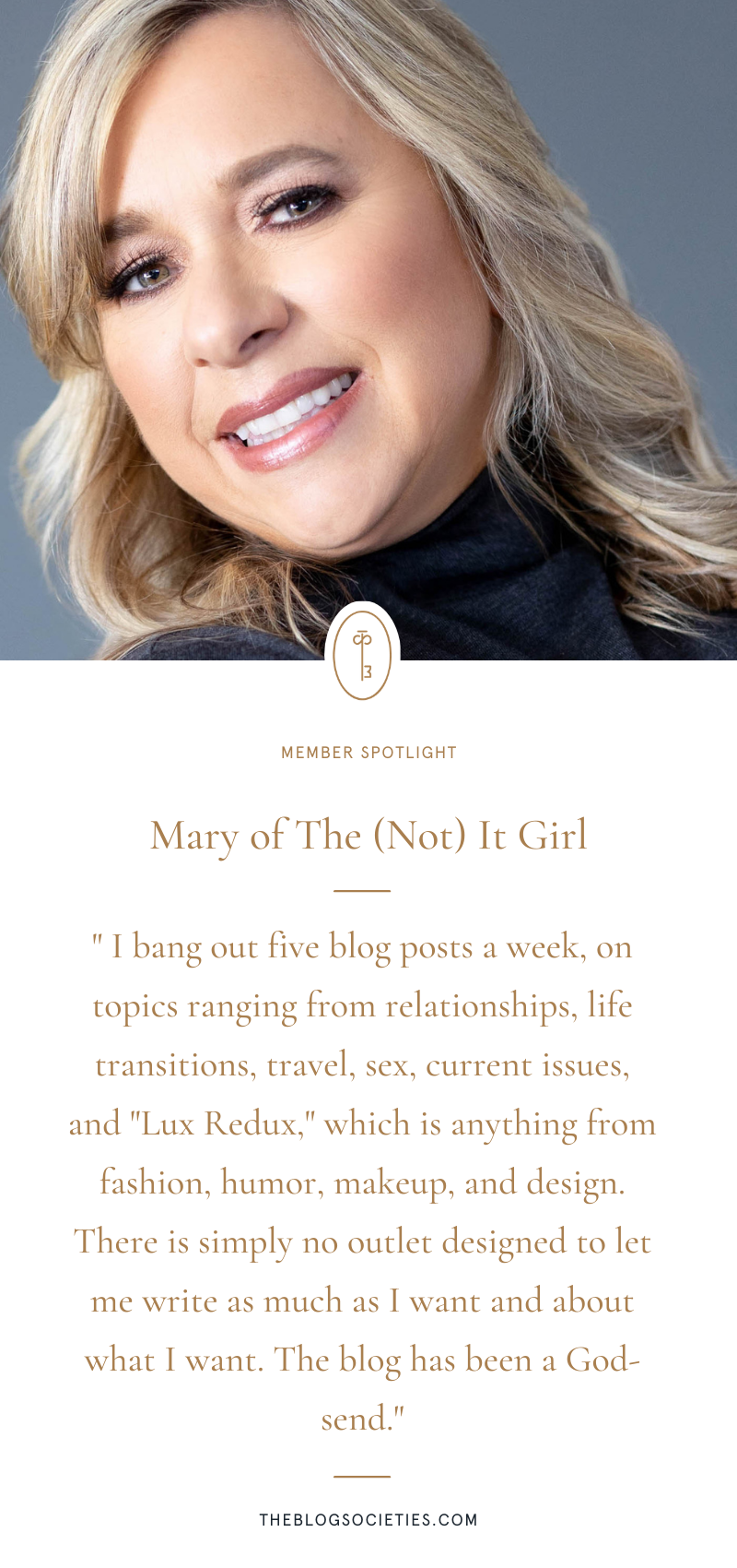 Mary of The (Not) It Girl