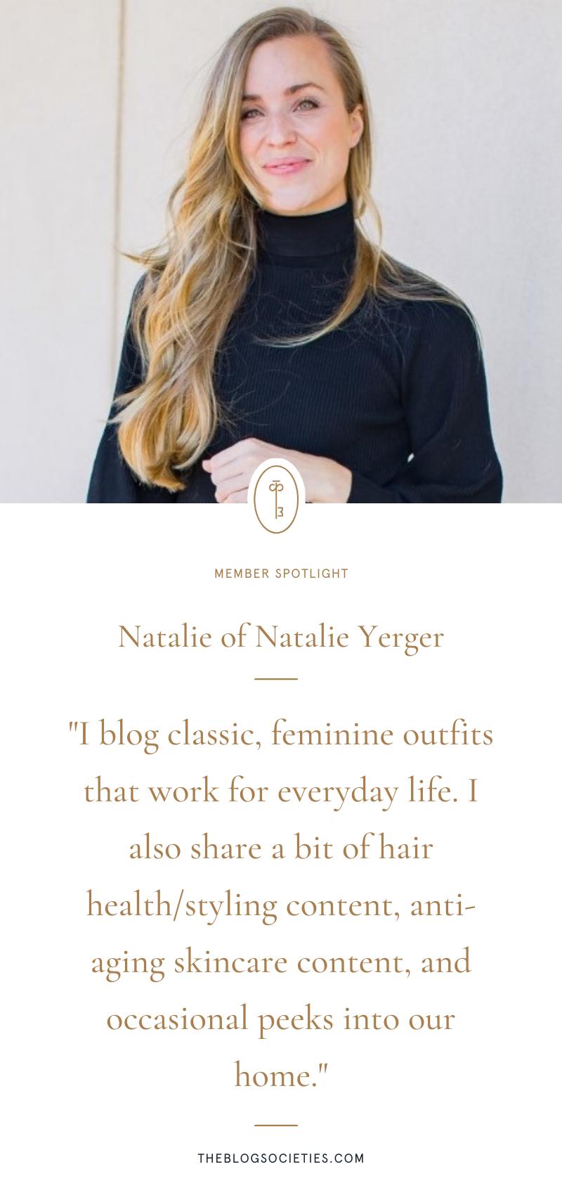 Natalie of Natalie Yerger